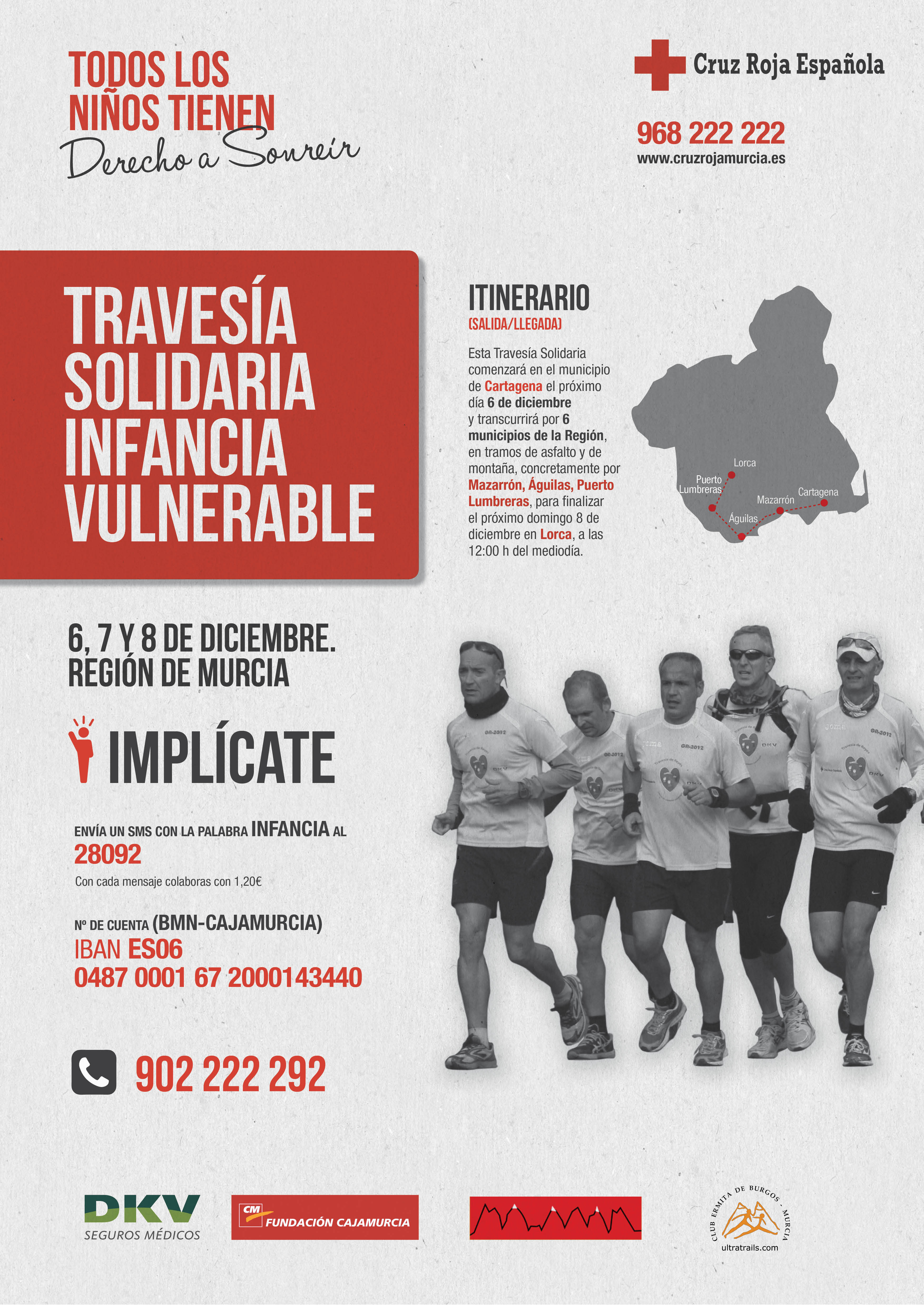Cartel Travesia Solidaria