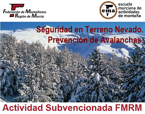 seguridad terreno nevado