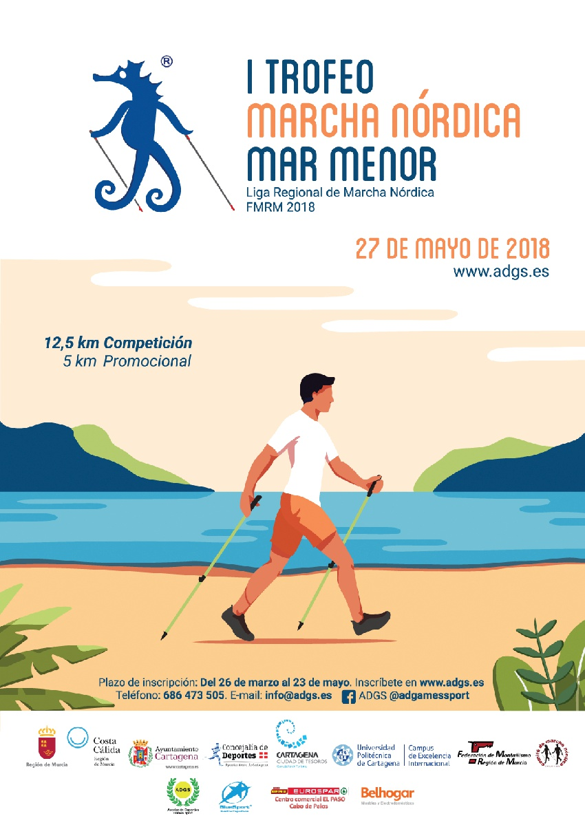 cartel I Trofeo Mar Menor 2018