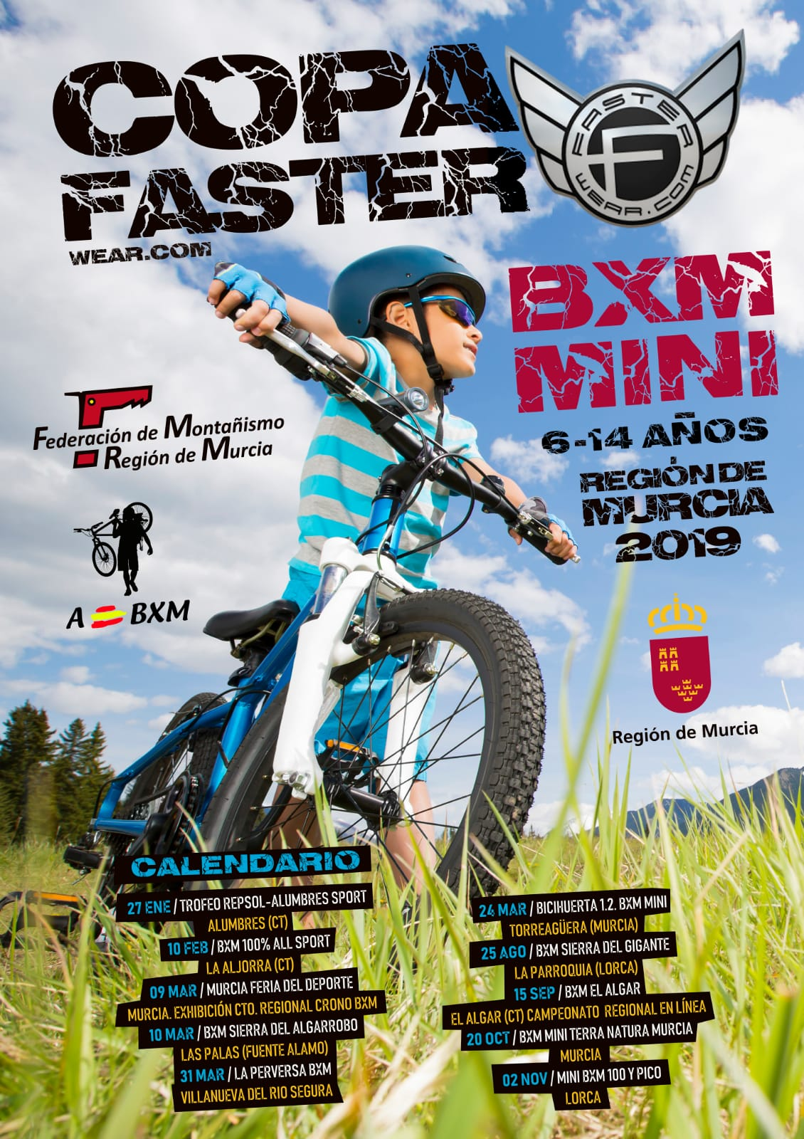 Cartel BXM MINI 2019